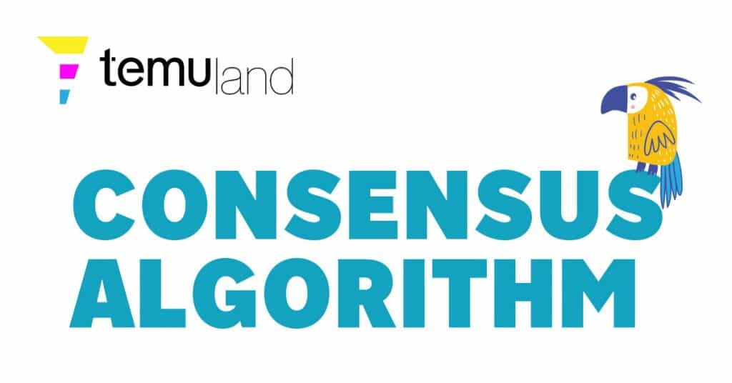A consensus algorithm refers to any number of methodologies used to achieve agreement, trust, and security across a decentralized computer network.