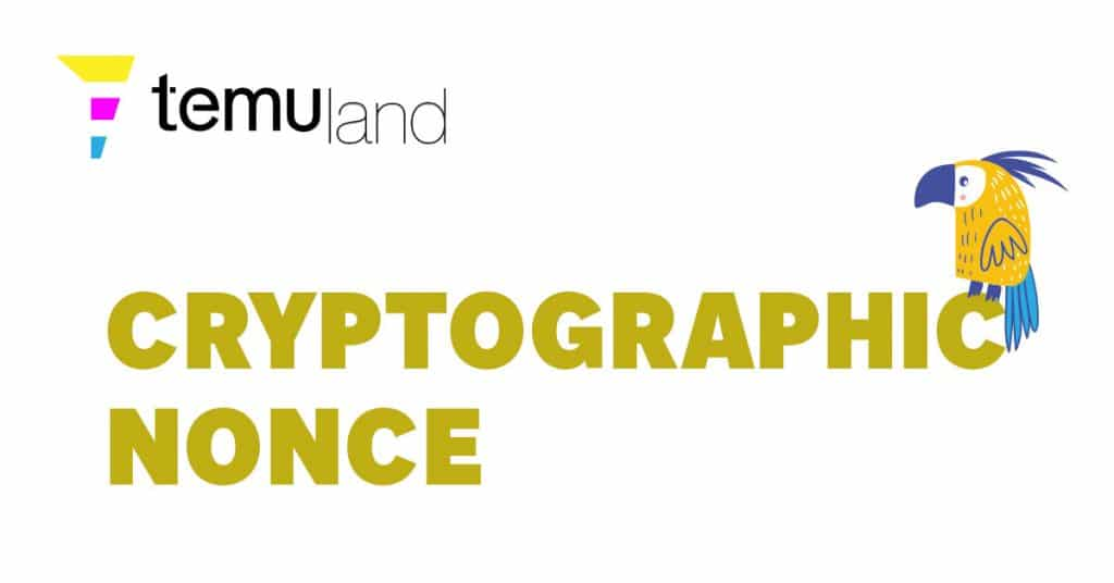 Cryptographic nonces are random or pseudo-random numbers that authentication protocols attach to communications.
