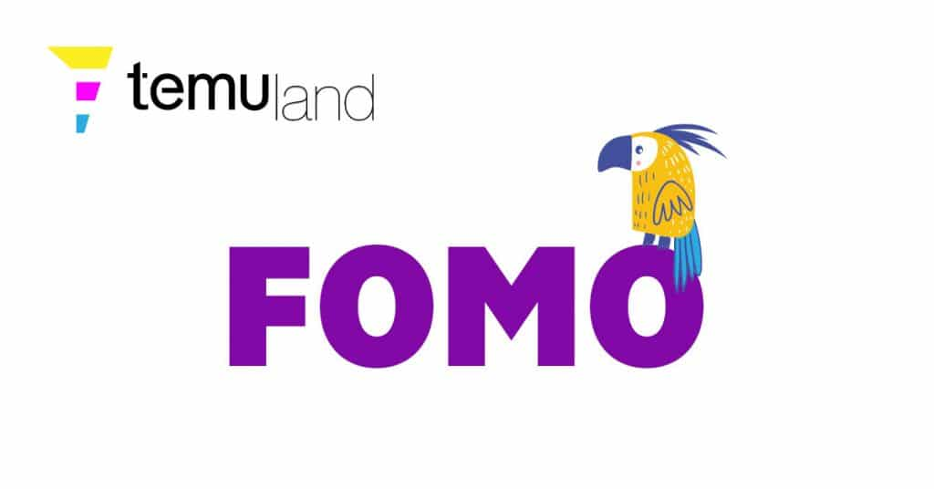 """FOMO is short for """"fear of missing out"""""""