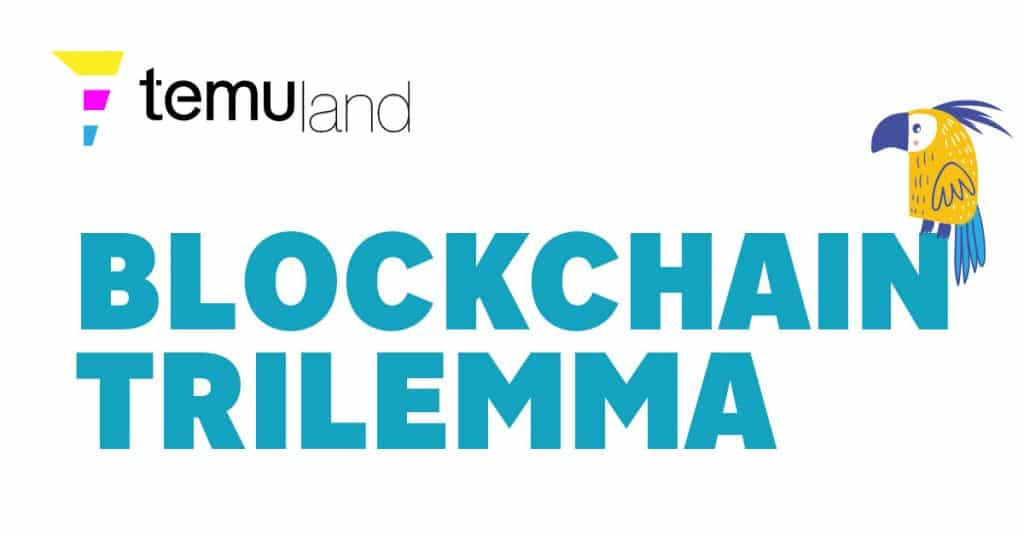 The blockchain trilemma refers to the fact that no blockchain has been able to optimise three qualities simultaneously, decentralisation, security, and scalability.