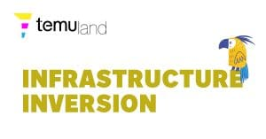 Infrastructure inversion is how new technologies are initially built on old infrastructures until an inversion happens and they replace the old infrastructure.