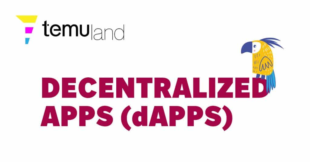 Decentralized applications, or dApps, are software programs that have their backend code running on a distributed computer network.