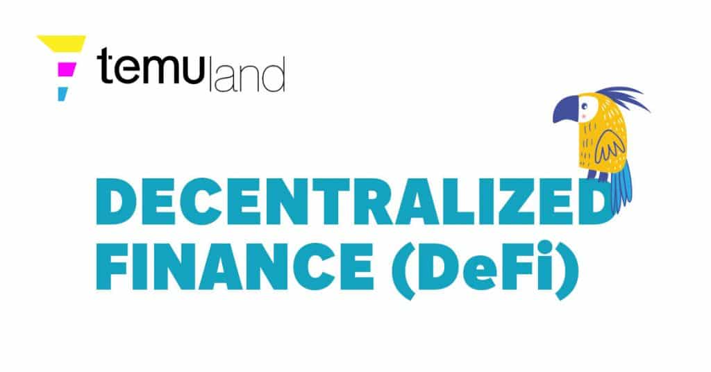 Inspired by blockchain technology, DeFi is referred to as financial applications built on blockchain technologies, typically using smart contracts.