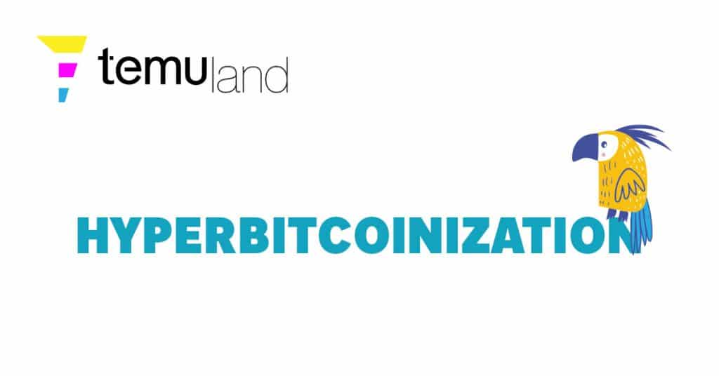 Hyperbitcoinization is the inflection point at which Bitcoin becomes the default value system of the world.
