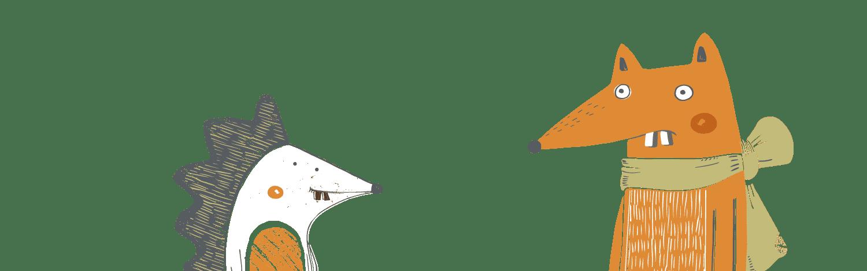 fox and hedgehog web02