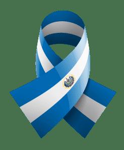 El Salvador ribbon