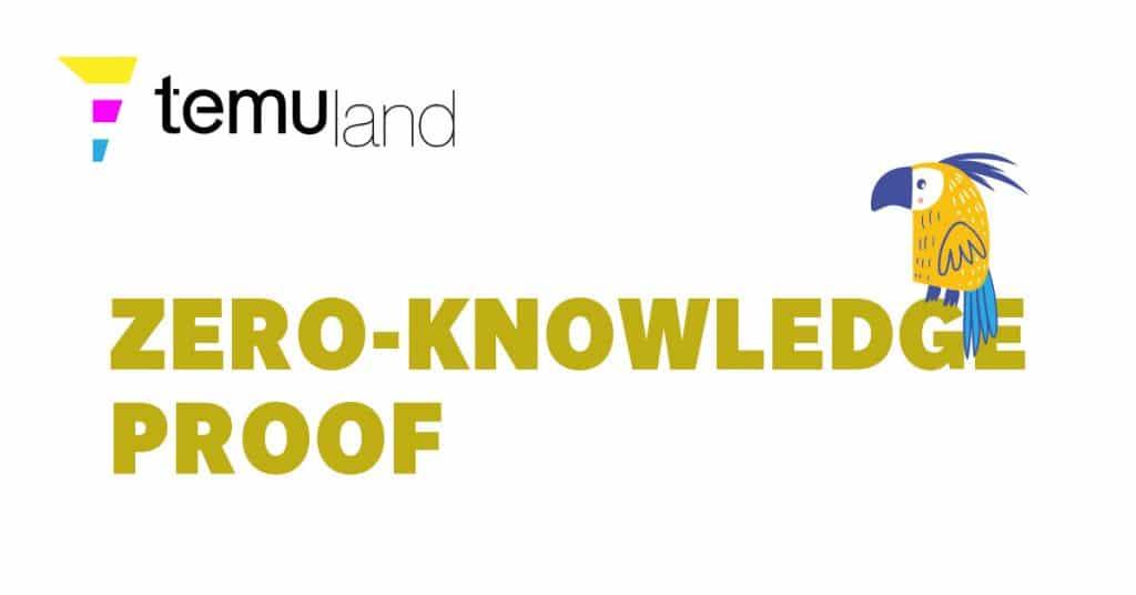 temuland crypto glossary zero-knowledge proof